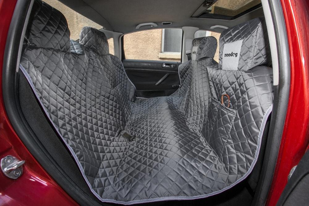 Reedog ochranný potah do auta pro psy - šedý + 30 dní na vyzkoušení