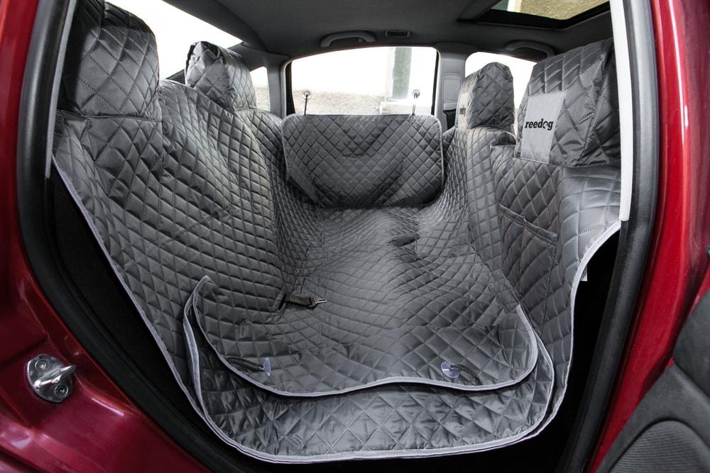 Reedog ochranný potah do auta pro psy na zip + boky - šedý + 30 dní na vyzkoušení