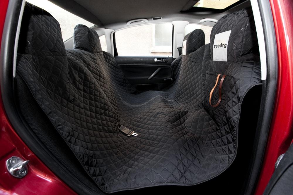 Reedog ochranný potah do auta pro psy - černý + 30 dní na vyzkoušení