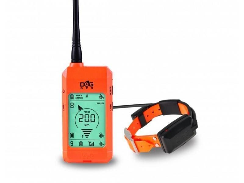 Satelitní GPS lokátor Dogtrace DOG GPS X23 sada pro tři psy - Oranžový + 30 dní na vyzkoušení