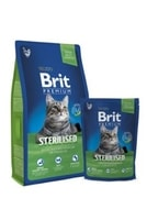 Brit Premium Cat Sterilised 300g NEW