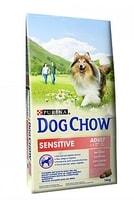 Purina Dog Chow Adult Sensitive Salmon&Rice 14kg