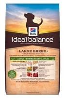 Hill's Canine Ideal B. Adult Large kuře a rýže 12kg