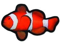 Hračka DOG FANTASY textilní ryba klaun 26 cm