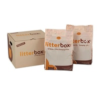 Litterbox přírodní hrudkujicí stelivo pro kočky 10 kg