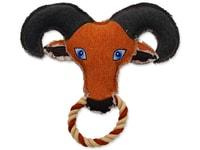 Hračka DOG FANTASY textilní koza 25 cm