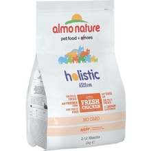 Almo Nature Holistic DRY CAT Kitten - Kuře s rýží
