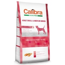 Calibra Dog GF Adult Medium & Small Salmon 2kg