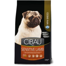 Expirováno: CIBAU Dog Adult Sensitive Lamb&Rice Mini 800g 8.10. 2018