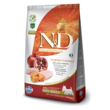 N&D GF Pumpkin DOG Adult Mini Chicken 100g