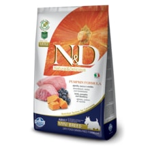 N&D GF Pumpkin DOG Adult Mini Lamb 100g