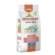 Almo Nature Holistic DRY DOG Small Adult - Losos s rýží