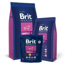 Brit Premium Dog Adult S 1kg