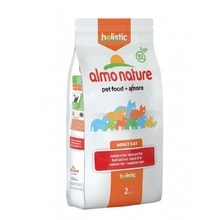 Almo Nature Holistic DRY CAT Adult - Hovězí s rýží