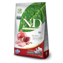N&D GF DOG Adult Chicken & Pomegranate 100g