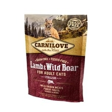 Carnilove Cat Lamb & Wild Boar Adult Sterilised 400g