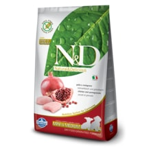 N&D GF DOG Puppy S/M Chicken & Pomegranate 800g