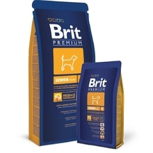 Brit dog Premium Senior M 15kg