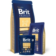 Brit Premium Dog Adult M 1kg