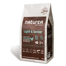 Naturea GF dog Light & Senior - All breeds 2kg