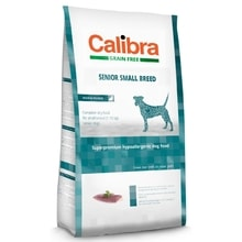 Calibra Dog GF Senior Small Breed Duck 2kg