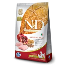 N&D LG DOG Light M/L Chicken & Pomegranate 12kg