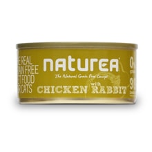 Naturea GF cat vlhké - Chicken, Rabbit 80g