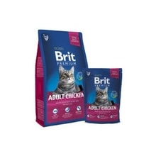 Brit Premium Cat Adult Chicken 300g NEW