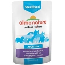 Almo Nature Functional WET Sterillised - treska