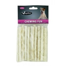 Papillon suš.poch.25sticks twist white12,5cm 8-10g pes