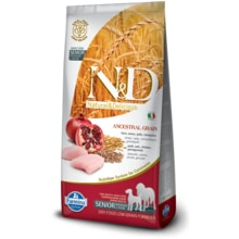 N&D LG DOG Senior M/L Chicken & Pomegranate 12kg