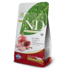 N&D GF CAT Neutered Chicken&Pomegranate 1,5kg