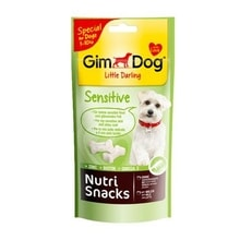 GIMDOG Nutri Snack Sensitive mini kostičky 40g