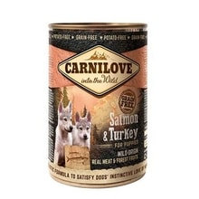 Carnilove Wild konz Meat Salmon & Turkey Puppies 400g