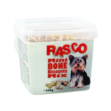Sušenky RASCO Dog mikro kosti mix 350g