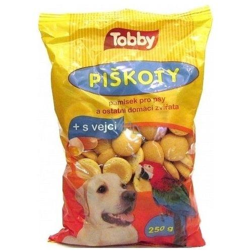 Piškoty TOBBY pro psy 250g pro útulek - 30 dní na vyskúšanie