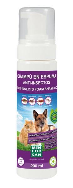 Menforsan pěnový šampón s Aloe Vera 200ml