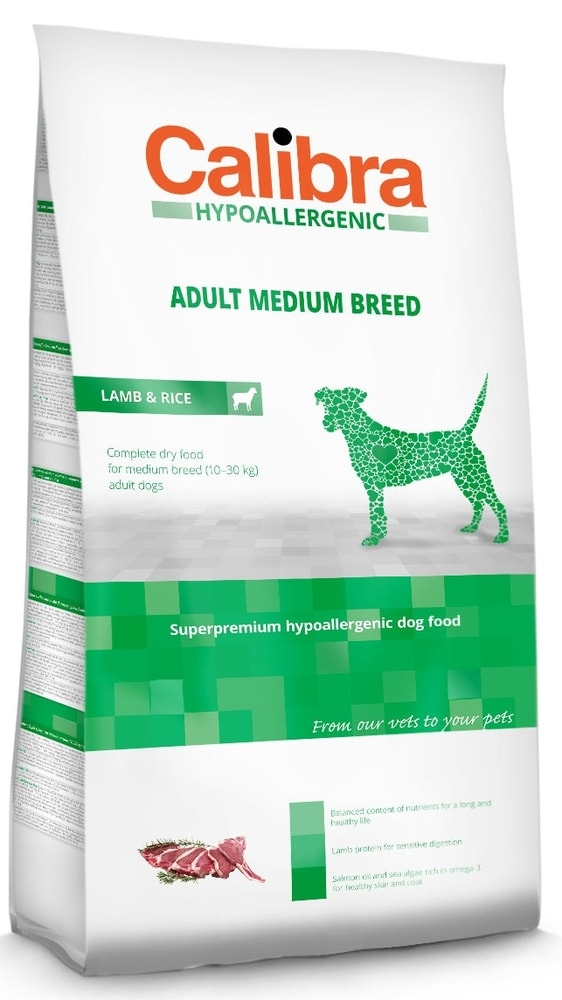 Calibra Dog HA Adult Medium Breed Lamb 20kg