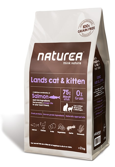 Naturea GF cat Lands - all breeds all lifestages 350g