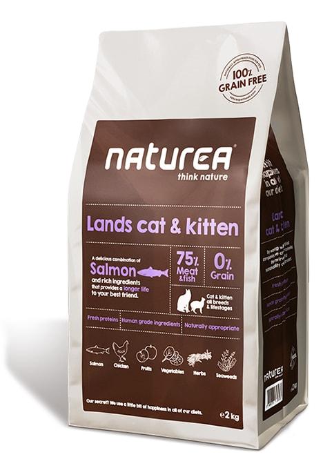 Naturea GF cat Lands - all breeds all lifestages 100g