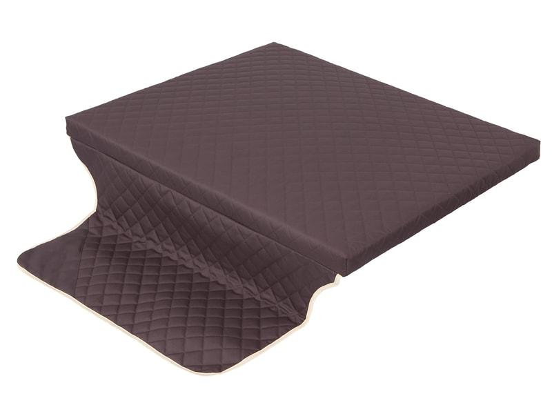 Matrace s potahem Cover Brown