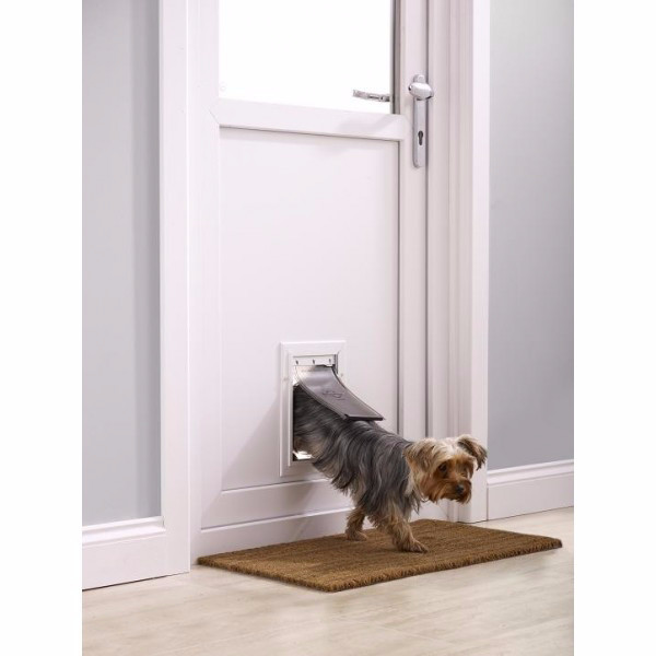 Pet Door Staywell 600 Aluminum Doors For Cats And Dogs Electric