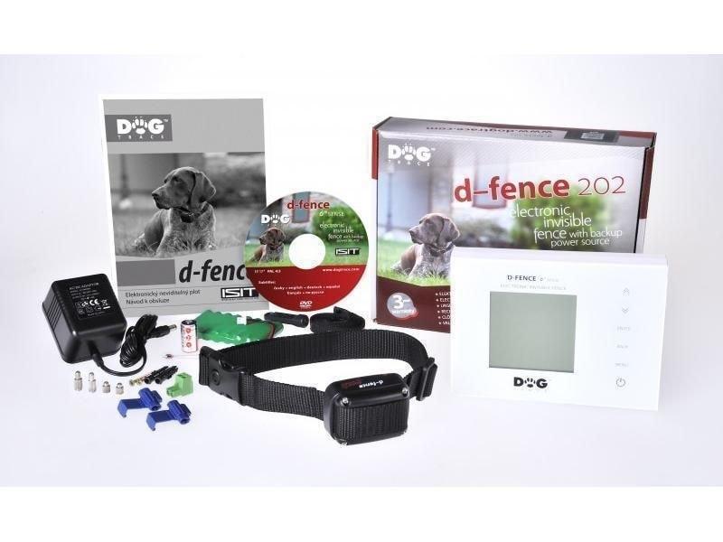Elektronický neviditelný plot Dogtrace d-fence 202 - bílý