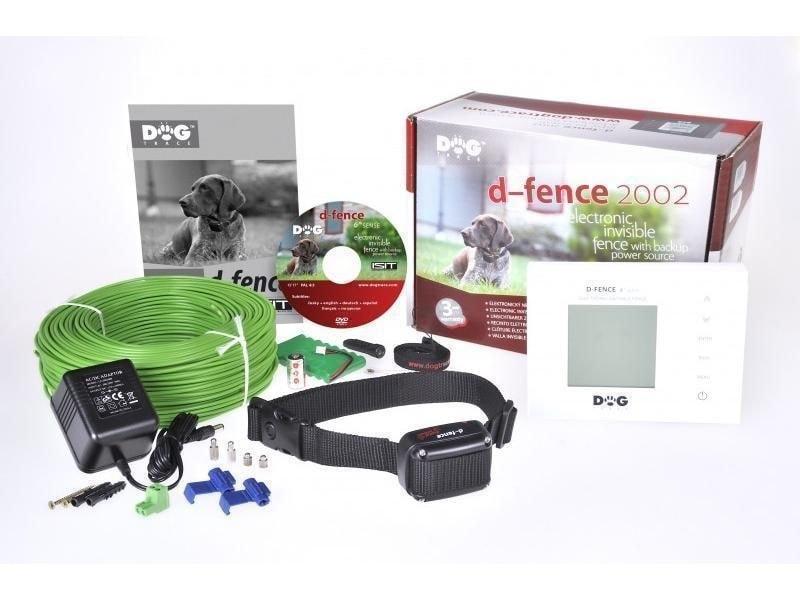 Elektronický neviditelný plot Dogtrace d-fence 2002 - bílý