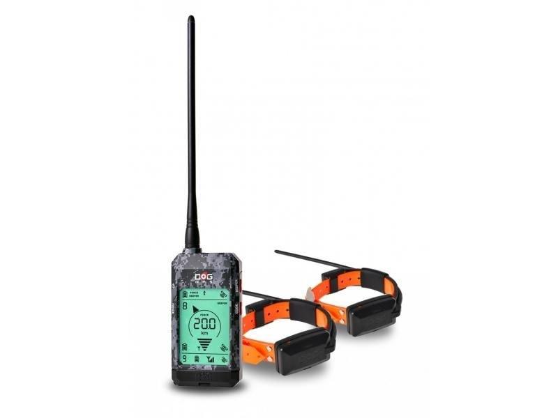 Satelitní GPS lokátor Dogtrace DOG GPS X22 sada pro dva psy