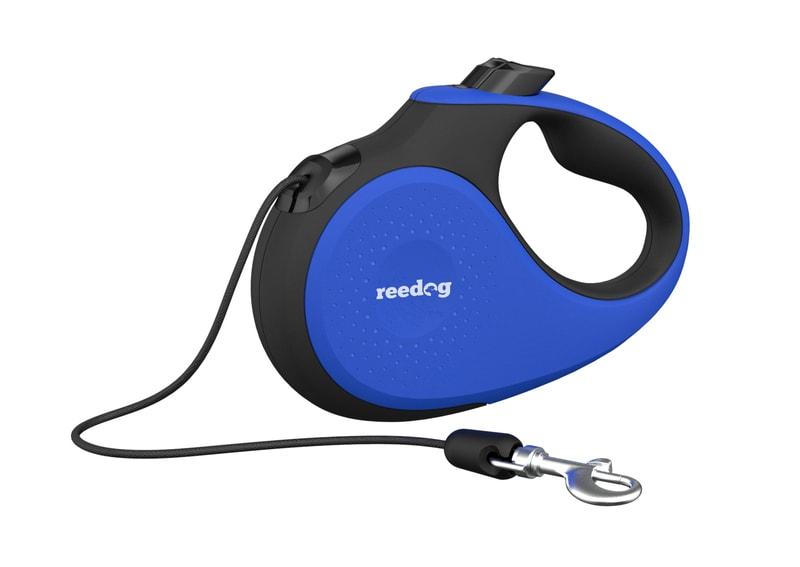 Reedog Senza Premium samonavíjecí vodítko M 25kg / 5m lanko / modré