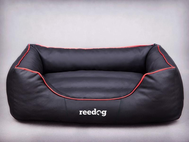 Reedog Pelíšek pro psa Comfy Black + Red