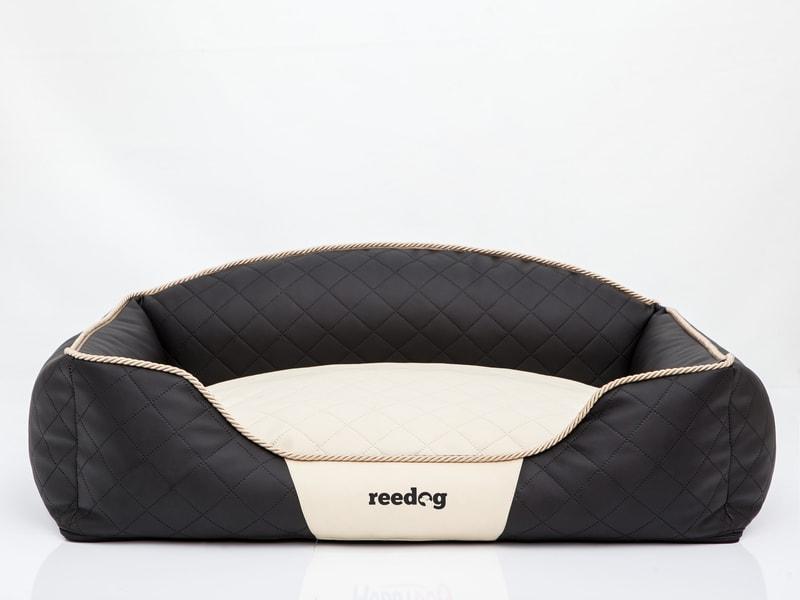 Reedog Pelíšek pro psa Black & Beige Sofa