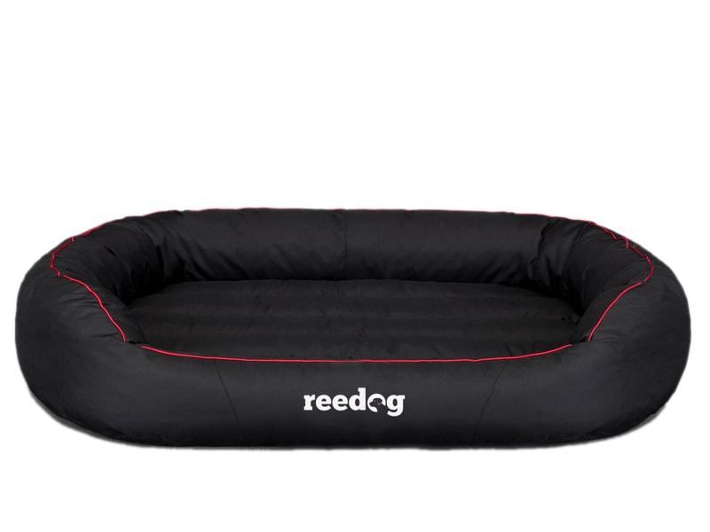 Pelíšek pro psa Reedog Round Black & Red