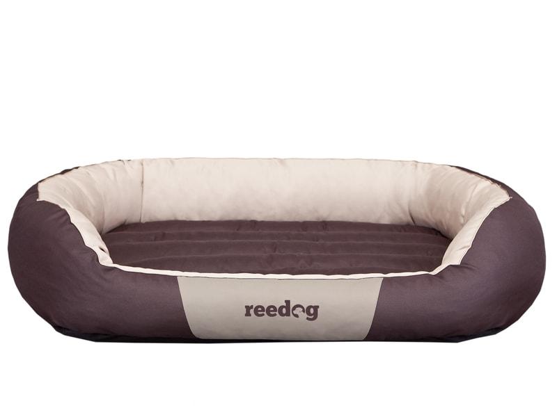 Pelíšek pro psa Reedog Round Brown & Beige
